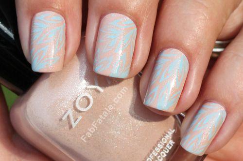 : Manicuremonday Nailart, Zoya Melodie, Color, Nail Designs, Nails Nailart, Beauty, Nail Art, Nailart Design