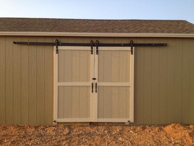 outdoor hanging barn door google search