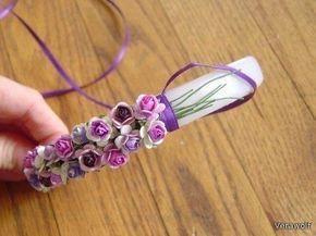 wpid eBse6uLK6H8 Милый цветочный ободок своими руками :)