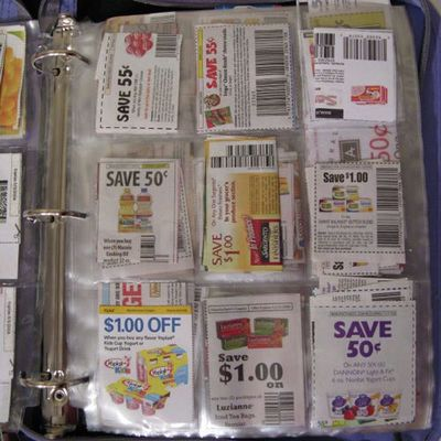 How to keep a coupon binder organized. This is great if you are a Qpon Junkie