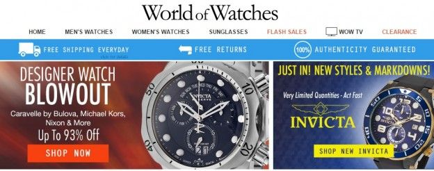 Promotional codes behave as the promotion technique to convince curious buyers to be able to assist businessmen nurture the speed of sales of these goods and services avail discounts offered by both internet and physical shops. -- World of Watches coupon code 2015 --- http://worldwatchescouponcode.com/