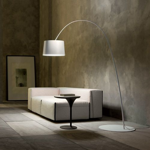 The Foscarini Twiggy Floor Lamp was inspired by a bamboo fishing rod, illustrated in the lamp's simple silhouette.