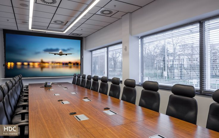 Project by HDCINEMA: this room was equipped with the latest audio and video technology. #audiovisual #smarthome #business #latesttechnology #inteligencetechnology