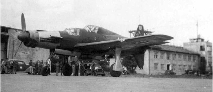 """The Dornier Do 335 Pfeil (""""Arrow"""") was a World War II heavy fighter built by the Dornier company. The two-seater trainer version was also called Ameisenbär (""""anteater""""). The Pfeil 's performance was much better than other twin-engine designs due to its unique """"push-pull"""" layout and the much lower aerodynamic drag of the in-line alignment of the two engines. The Luftwaffe was desperate to get the design into operational use, but delays in engine deliveries meant only a handful were…"""