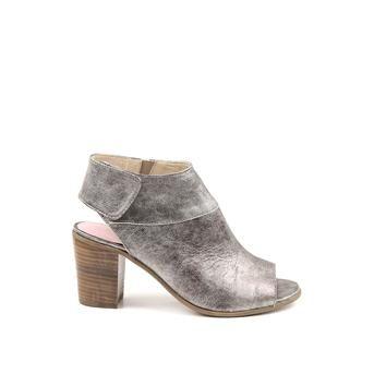 Manfield - zilveren sandalen