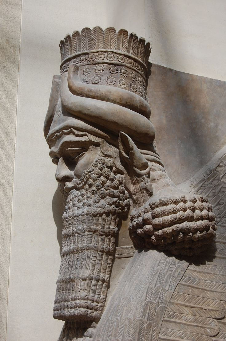 Palais de Sargon II - Taureaux ailés - Musée du Louvre, Paris