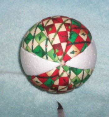 tutorial for fabric covered balls