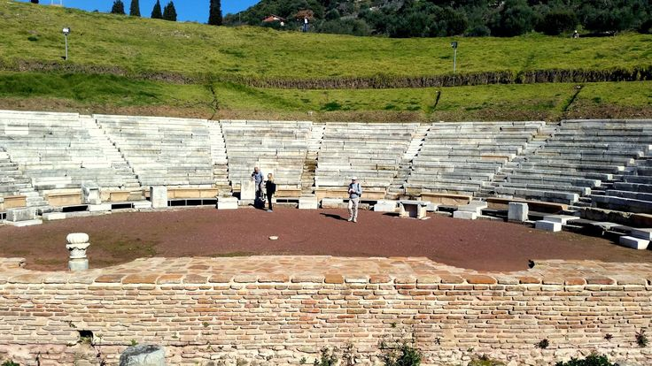 Ancient Messene - the theatre #ancientmessne #peloponnese #ancent #messene #greece #history #culture