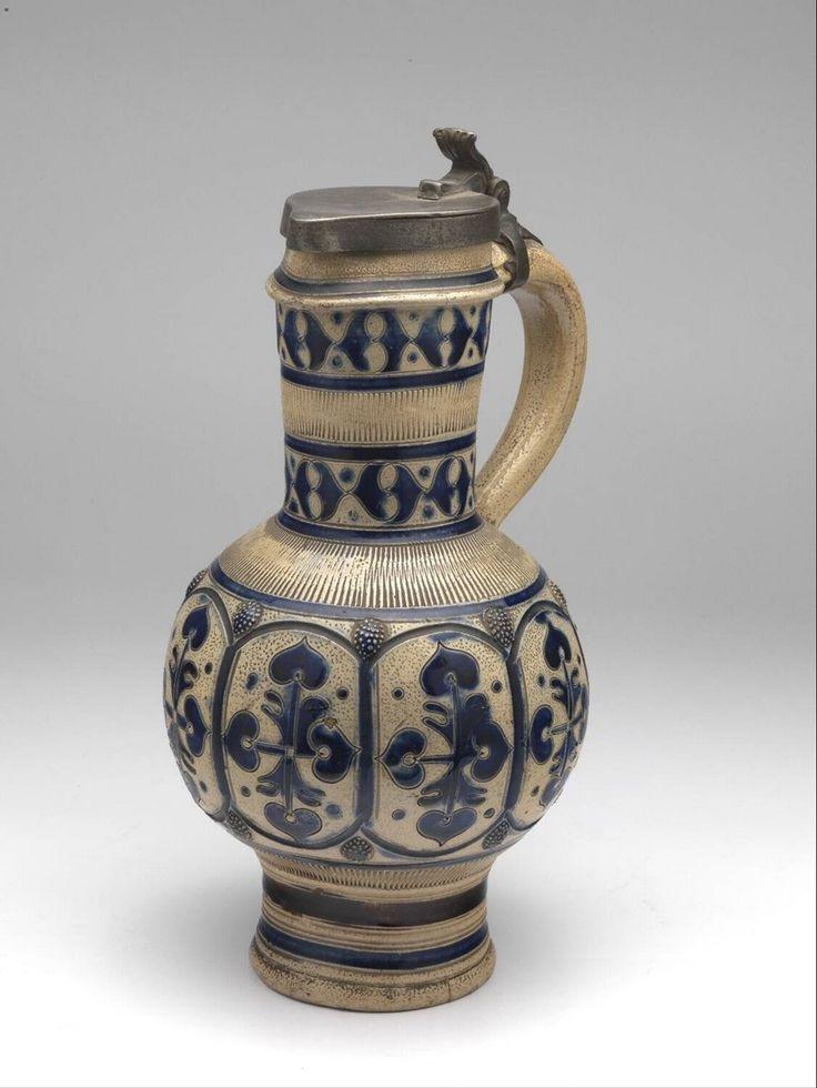 wine pitcher, Anonymous, 1675-1725 | Museum Boijmans Van Beuningen