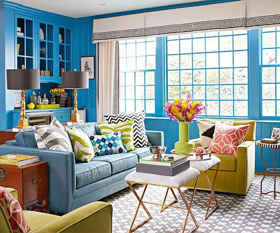 Learn How To Mix Patterns. Living Room ... Part 56