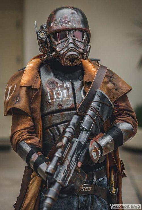 NCR Ranger | Fallout - New Vegas | Sci-Fi Assassin / Soldier