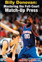 #Basketball DVD - Billy Donovan: Mastering the Full-Court Match-Up Press - Coach's Clipboard Basketball DVD Store