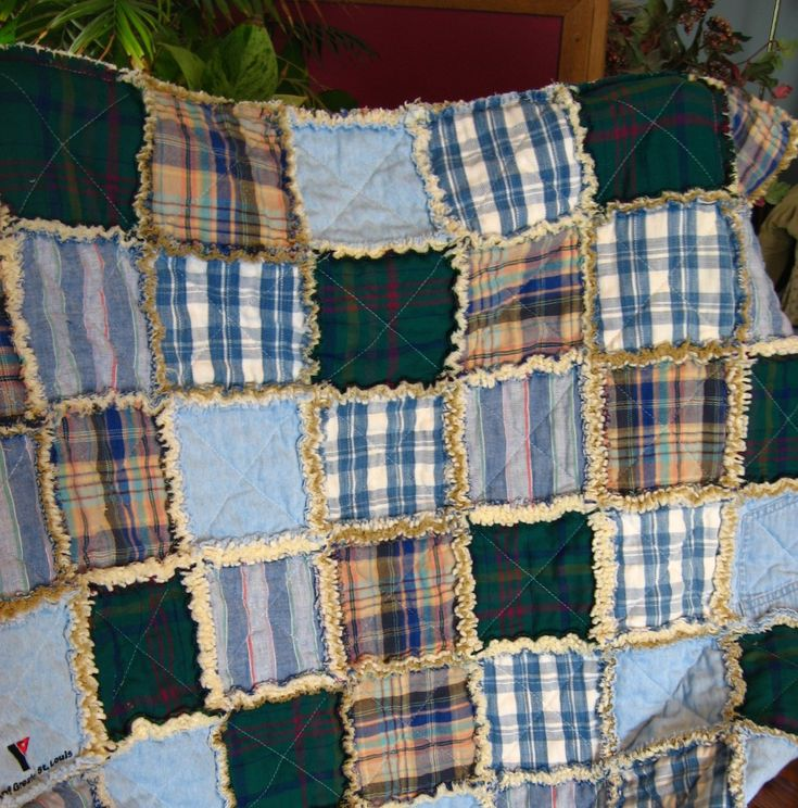 65 best Quilts images on Pinterest | Shirt quilts, Memory quilts ... : memory rag quilts - Adamdwight.com