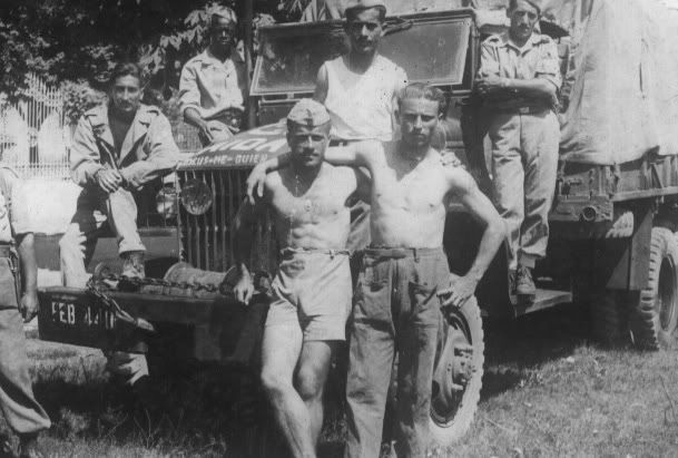 Brazilian troops in Italy during the Second World War