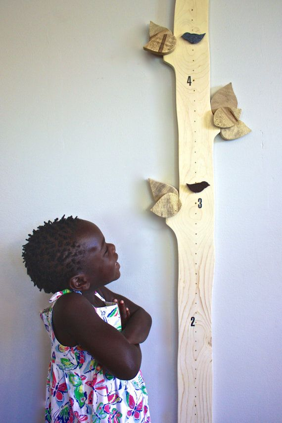 Tree Growth Chart READY TO SHIP Children's height by SoftIndustry, $95.00