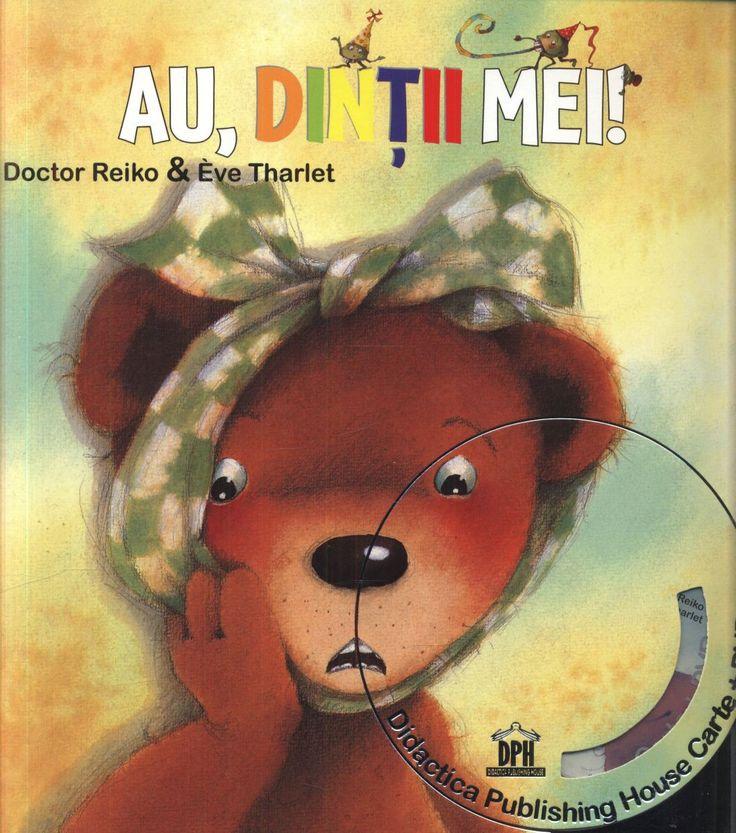 Au, dintii mei - Doctor Reiko - Varsta:1+; Aceasta este cartea cu ajutorul careia mi-am invatat puiul despre iportanta spalatului pe dinti. In fiecare dimineata ne jucam, cautandu-l in gurita lui pe Marele BakTerius si banda lui de osteni rai care mananca dintisorii. Au, dintii mei! Scrisa de dr. Reiko si Sayako Uchida, Au, dintii mei! cartea este imboldul perfect pentru ca cei mici sa nu exagereze cu mancatul dulciurilor, dar in special pentru o igiena temeinica pe parcursul zilei.