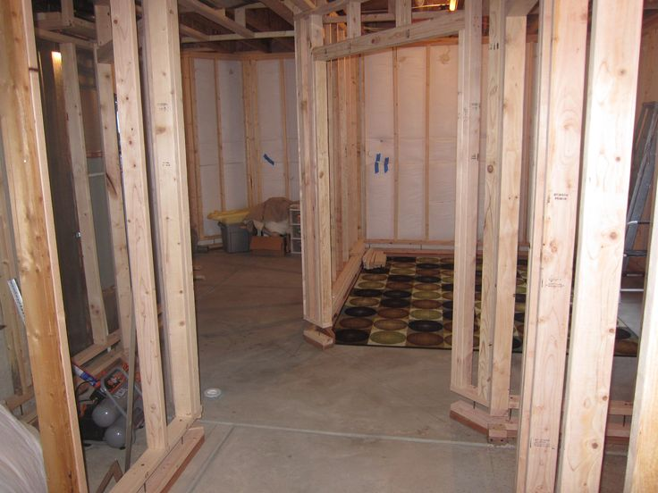 Beautiful Framing A Room In Basement