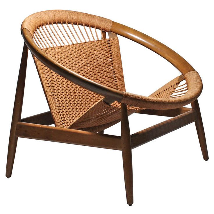 Danish Modern Ringstol Chair by Illum Wikkelso | From a unique collection of antique and modern armchairs at http://www.1stdibs.com/furniture/seating/armchairs/