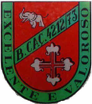 1ª Companhia de Caçadores do Batalhão de Caçadores 4212/73 Angola