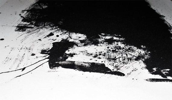 Paesaggio Astratto 1 Litografia Giclée di PlumPlumCreations