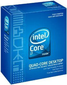 """Intel Core i7 940 2.93GHz 8M L3 Cache 4.8GT/sec QPI Hyper-Threading Turbo Boost LGA1366 Processor by Intel. $499.00. From the Manufacturer                From the Manufacturer With multiple computing """"brains"""" inside one processor, new Intel multi-core processors deliver big performance for anyone interested in running the most demanding software applications with ease. New Intel® Core™ i7 45nm quad-core processors from Intel combine exclusive innovations to deliver t..."""