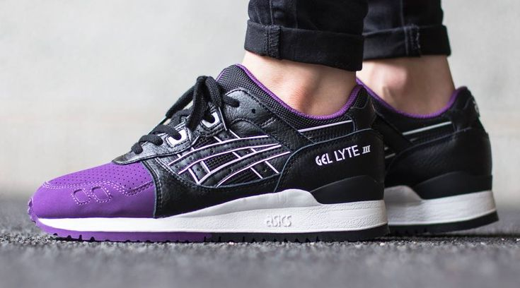 Asics Gel Lyte III Purple Toe