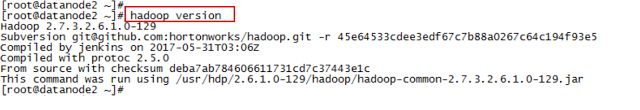 Checking versions of Hadoop eco system tools   We need to know versions of hadoop technologies while we are trouble shooting any Hadoop issues. This article talks how to check versions of Hadoop ecosystem technologies.1) Hadoop version Hadoop version can be found using below command. hadoop version  2) Hive version Hive version can be found using below command. hive version   3) Pig version Pig version can be found using below command. pig version  4) Sqoop version Sqoop version can be found…