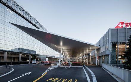 Neugestaltung Vorfahrten Flughafen Zürich - BURCKHARDT+PARTNER