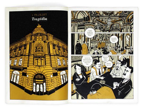 Nyugat + Zombik comics | Degree project on Behancehttps://www.behance.net/gallery/Nyugat-Zombik-comics-Degree-project/10277647