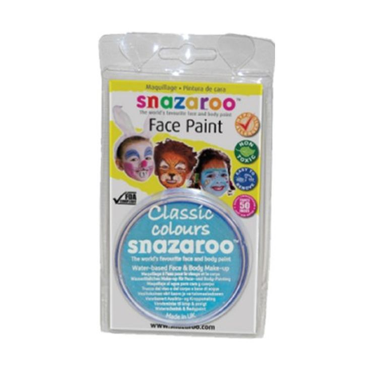 Buy #Snazaroo #Turquoise 18ml #Face #Paint at Best Price in India  for Rs.895/-