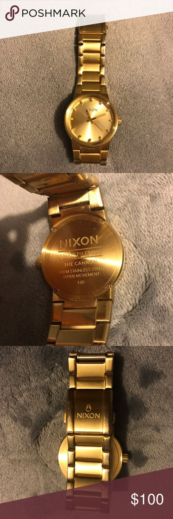 Nixon watch Gold Nixon watch ~ fits small to medium wrist ~ Nixon Accessories Watches