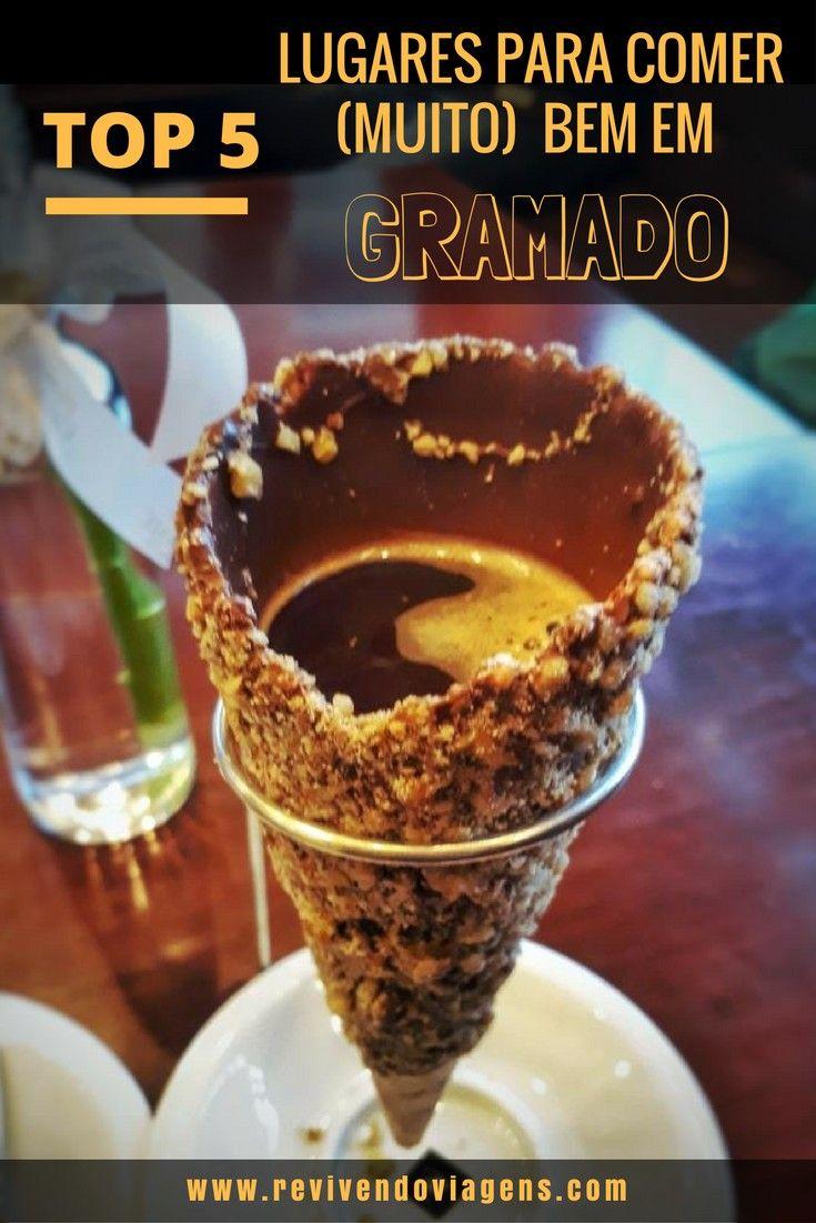 5 lugares para comer muito bem em Gramado. De foundue a hamburguer gourmet, passando por café colonial e chocolates. Serra Gaúcha. Rio Grande do Sul. #Gramado #serragaucha #Brasil