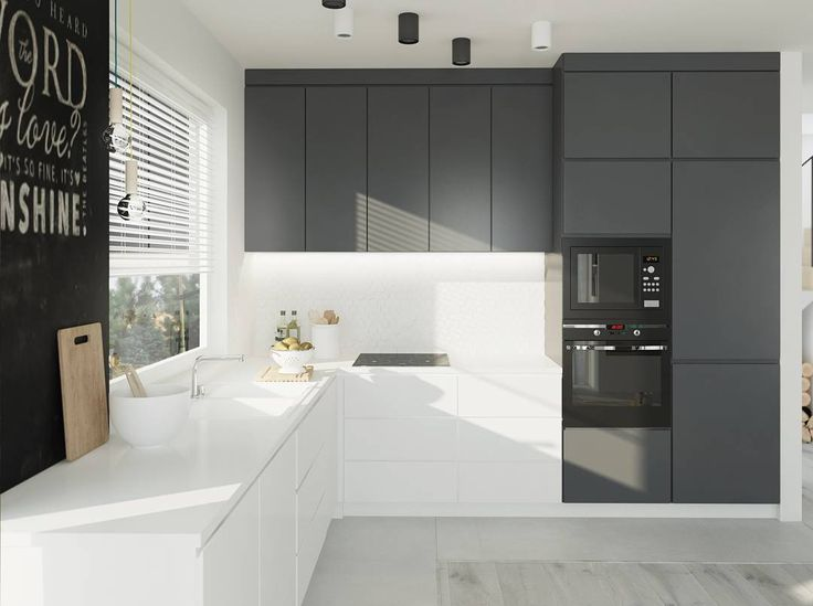 Grey cupboard colour for overhead kitchen cupboards next to rangehood