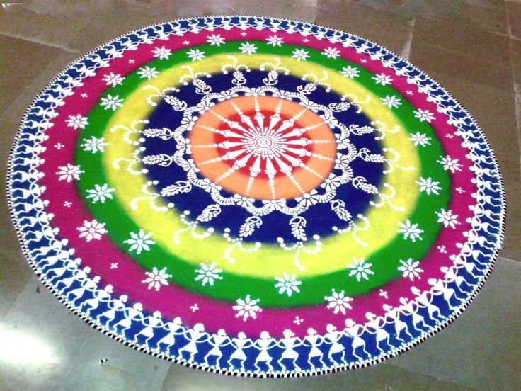rangoli designs for competition with concepts - Google Search