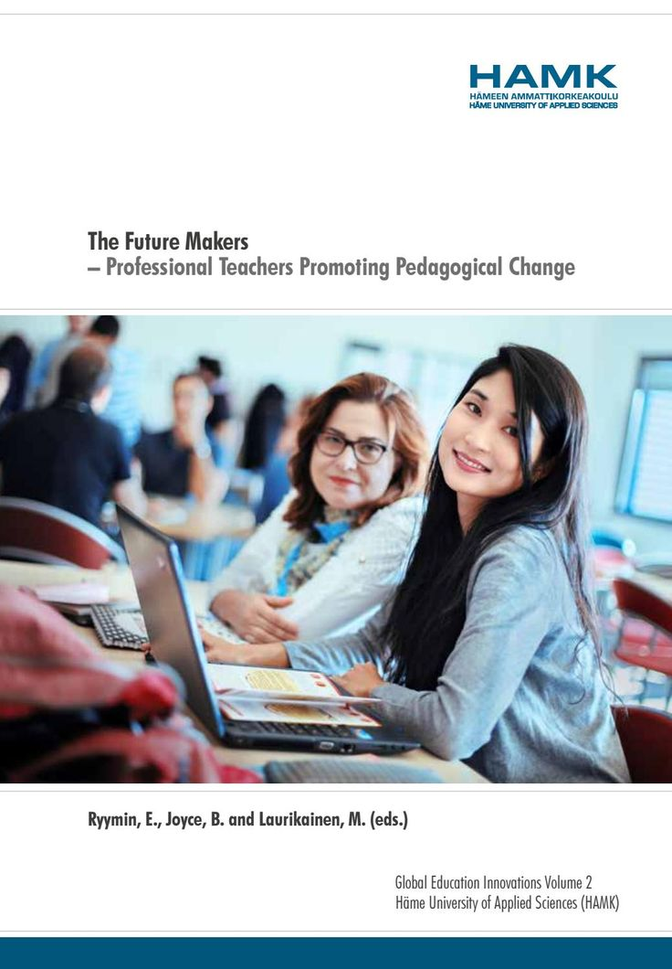 The Future Makers – Professional Teachers Promoting Pedagogical Change