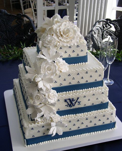 88 Best Wedding Cakes With Flowers Images On Pinterest Cake - Wedding Cake Richmond Va