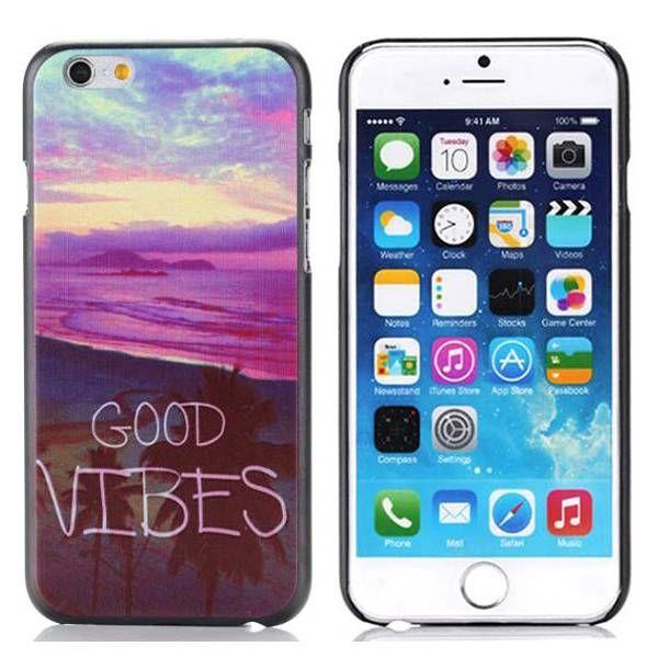 Good Vibes Stijl hardcase hoesje voor iPhone 6 Plus