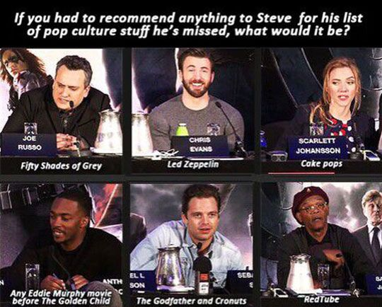 What Is Missing In Captain America's List