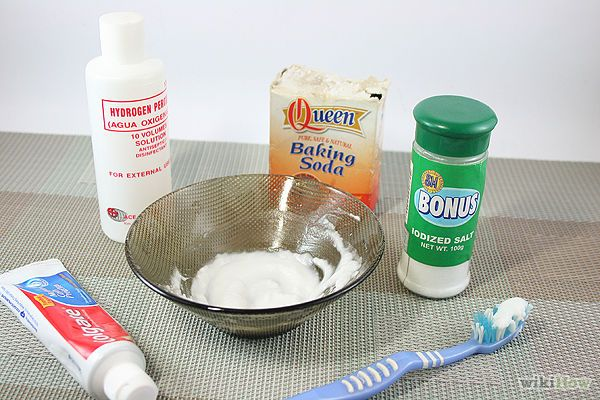 How to Whiten Teeth With Hydrogen Peroxide: 4 Steps - wikiHow