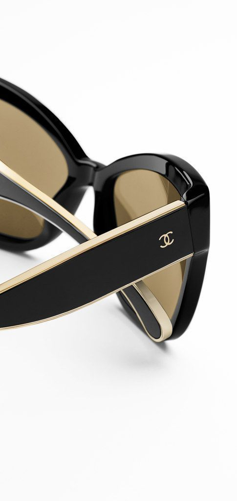 Chanel Sunglasses...these would make a great birthday present for me :-) Love the pearl on the side