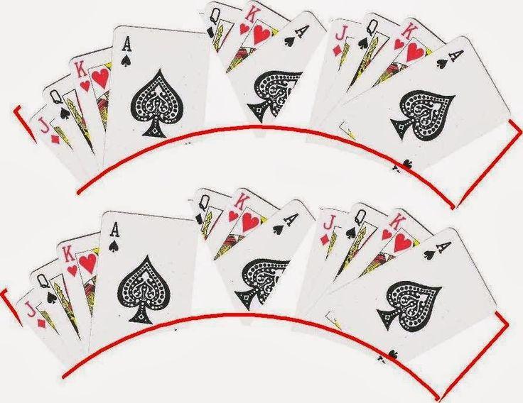 Poker: Free Printable Cupcake Wrappers.