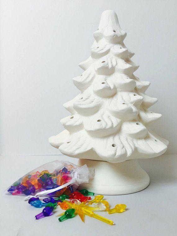 Diy Ceramic Christmas Tree Kit 13 Tree Holiday Craft Etsy Christmas Tree Kit Diy Christmas Gifts Holiday Crafts For Kids