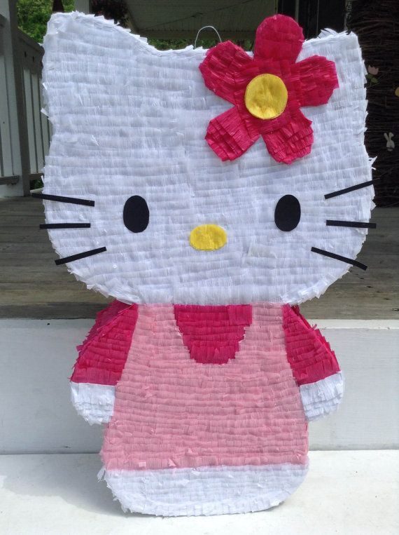 Hello Kitty Pinata by LaAranita on Etsy, $30.00