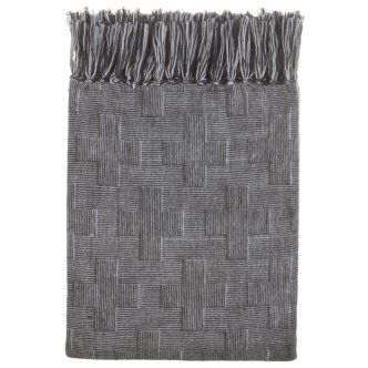 Urban Coal Design This Urban Coal Throw would be a beautiful addition to any home. Suitable for the sitting room, bedroom, or in the living room. The Urban Coal Throw would make the perfect gift Cushion Details: · Urban Coal Throw · Cushion size: 127X152cm Woven Throw Rug With Fringe · Material: Acrylic · Colour: Coal