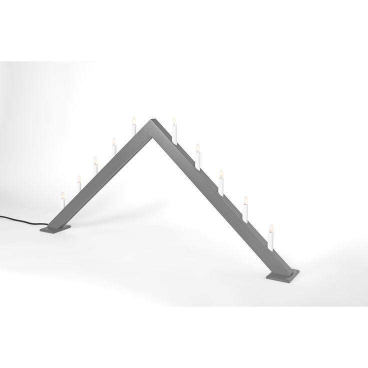ÖR10 ljusstake från Örsholmsstaken. En adventsljusstake som skapades med ett väldigt tydligt syfte, ...