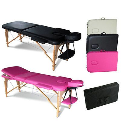 Details about portable folding massage table therapy for Foldable beauty table