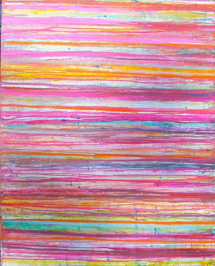 Lindsay Cowles: Artist Lindsay, Cowles Art Fresh, Color, Cowles Fuchsia Stripe, Cowles Oil, Lindsey Cowles, Lindsay Cowles, Oil Painting