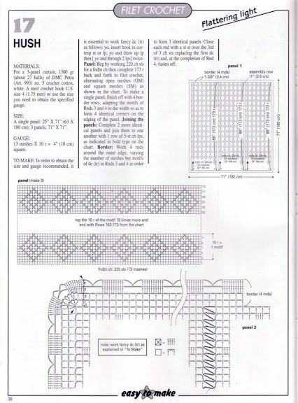51 best Hekel gordyne images on Pinterest Cortinas crochet - conduit fill chart