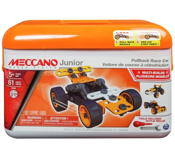 Buy Meccano Junior Tool Box Assortment at Argos.co.uk, visit Argos.co.uk to shop online for Construction toys, LEGO and construction toys, Toys