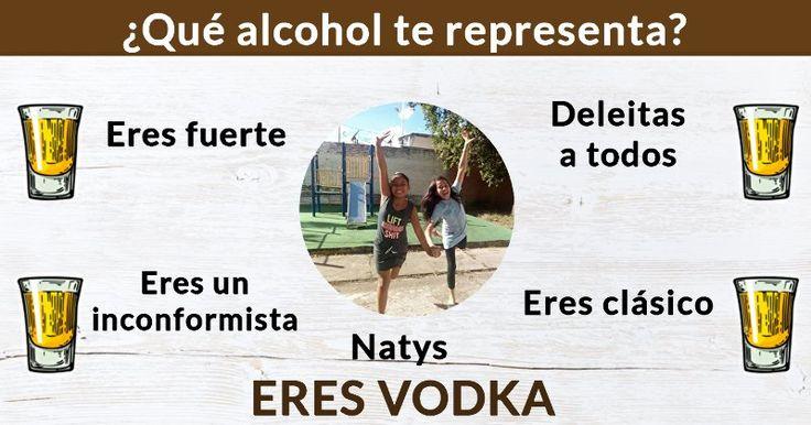 ¿Qué alcohol te representa?